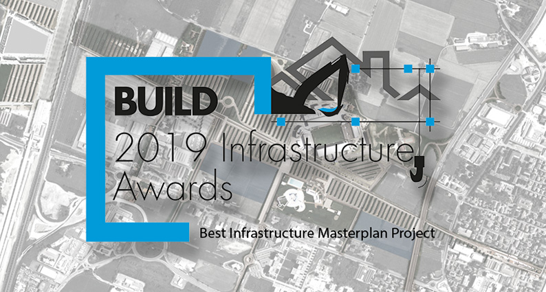 build awards 2019 infrastructure masterplan project. london