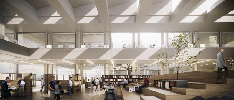 lorenteggio library competition. milan